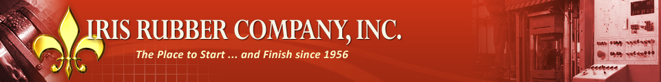 Iris Rubber Company, Inc. | The Place to Start ... and Finish since 1956
